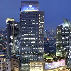 The 180-room Raffle's Jakarta will be at the heart of the central business district. // © 2013 Raffles Hotels & Resorts