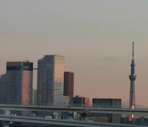 Tokyo Skytree soars above the Japanese capital's skyline // (c) 2012 Monica Poling
