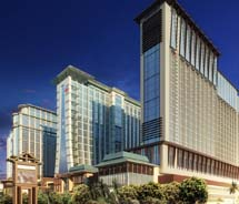 A rendering of the Sheraton Macao Hotel, which is set to open this fall // © 2012 Starwood Hotels & Resorts Worldwide, Inc.
