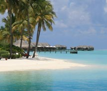 "<p align=""left"" class=""small_caption"">The Maldive Islands are an exotic paradise just waiting to be discovered by U.S. travelers. // (C) 2010..."