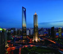 Shanghai's financial district // © 2010 China Nation Tourist Office