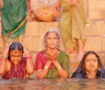 The Ganges is the most sacred river to the Hindus. // © 2011 Mark Edward Harris