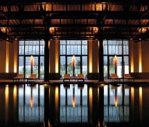 Fuchun Resort is one of China's pioneer design hotels. // © 2012 Gary Bowerman