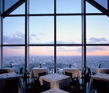 Views from the Park Hyatt are stunning from every angle. // © 2012 Park Hyatt Tokyo