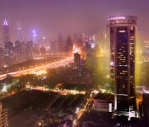 Jin Jiang Tower's location is ideal for business travelers. // © 2012 Jin Jiang Tower Shanghai