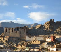 Leh Palace was modeled after the Potala Palace in Lhasa, Tibet. // © 2012 Deborah Dimond