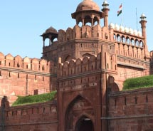 The Red Fort // © 2013 Deborah Dimond