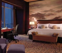 The China World Summit Wing is a new luxury property operated by Shangri-La. // © 2011 Shangri-La Hotels and Resorts