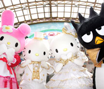 Hello Kitty and friends // © 2012 Puteri Harbour Family Theme Park