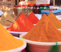 Foodies can visit India's spice markets with Geringer Global Travel. // © 2012 Thinkstock