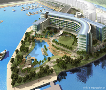 W Singapore opened this month. // © 2012 Starwood Hotels & Resorts
