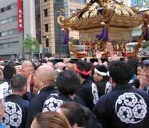 The Kanda Matsuri festival in Tokyo is one of Japan's three largest festivals. // © 2011 Renfield Kuroda
