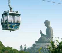 Ngong Ping 360 cable-car ride // © 2010 Hong Kong Tourism Board