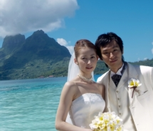 Weddings are now legal in Tahiti. // © 2010 Bora Bora Pearl Beach Resort & Spa