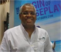David Shields, general manager of Island Routes Caribbean Adventure Tours, at JAPEX. (c) 2011 Mark Rogers