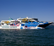The Balearia Bahamas Express is now offering three Miami/Bimini trips per week. // © Balearia Bahamas Express