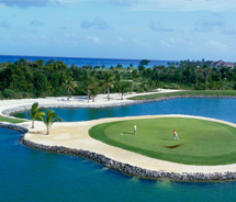 A favorite golf destination of world leaders and celebrities, the Dominican Republic is one of the world's hottest spots to tee-off. // (c) 2011 Apple...
