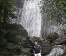 Driving from waterfall to waterfall through El Yunque Rainforest is a Puerto Rico highlight. // © 2012 Mark Rogers