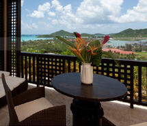 The upper floor rooms at Sugar Ridge in Antique have a large veranda, a dining deck and a day bed. // © 2012 Sugar Ridge