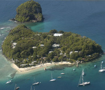 Young Island Resort // © 2011 St. Vincent and the Grenadines Tourism Authority