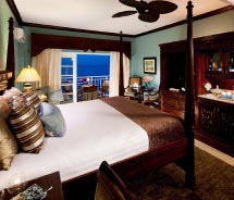 Guestrooms, including the Riviera Suite, have been enhanced. // © 2012 Sandals Grande Riviera