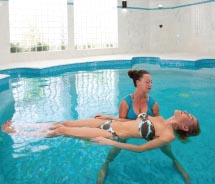 The Venus Spa features an aqua therapy pool. // © 2012 CuisinArt Golf Resort & Spa