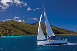 Yachts can give guests access to land excursions typically off-limits to larger vessels. // (c) The Moorings