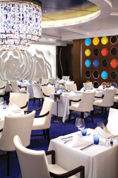 Blu caters exclusively to AquaClass guests onboard Celebrity Solstice. // (c) Celebrity Cruise Lines