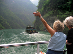 Yangtze River cruises, such as this one on Viking, have become extremely popular. // (c) Viking Cruise Line