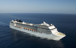 The MSC Orchestra will summer in Europe before moving to South America. // (c) MSC Cruises