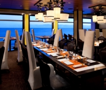 Qsine is the newest dining concept on board Celebrity Cruises' Eclipse // © 2010 Celebrity Cruises