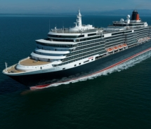 The Queen Victoria's makes four port calls to Los Angeles during her debut Americas season. // (c) 2011 Cunard