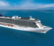A rendering of the Project Breakaway ships // (c) 2011 Norwegian Cruise Line