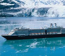 Starting May 5, the 1,916-passenger Oosterdam will sail 21 Alaskan Explorer departures out of Seattle.  // © 2012 Holland America Line