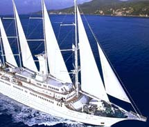 Despite its recent sale, Windstar Cruises will sail all published 2011 and 2012 voyages.  // © 2011 Windstar Cruises