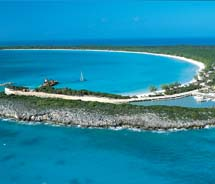 The winner will be presented with a key to Half Moon Cay. // © 2010 Holland America Line