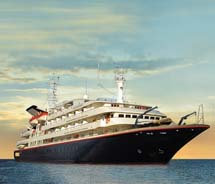 A rendering of the Silver Galapagos // © Silversea Cruises