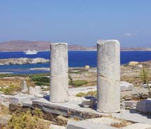 The Aegean Odyssey in Delos, Greece // © 2012  Voyages to Antiquity
