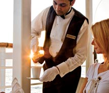 Azamara Club Cruises now offers butler service // © 2011 Azamara Cruises