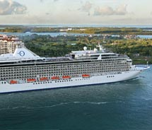 The Marina was christened last month in Miami. // © 2011 Oceania Cruise<br />