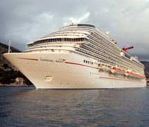 Carnival Magic will sail out of Galveston in November. // © 2011 Carnival Cruise Lines