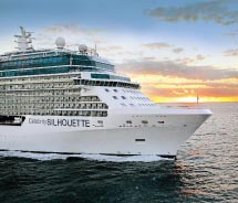 Celebrity Silhouette is the fourth of five Solstice-class ships. // © 2011 Celebrity cruises