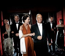 According to a Cunard survey, nearly 60 percent of respondents would enjoy more occasions to dress up. // © 2011 Cunard