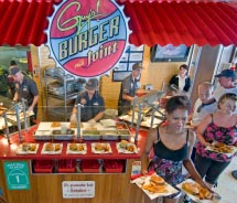 Carnival teams up with celebrity chef, Guy Fieri. // © 2012 Carnival Cruise Lines
