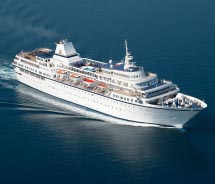 The Aegean Odyssey sails to unique destinations. // © 2012 Voyages to Antiquity