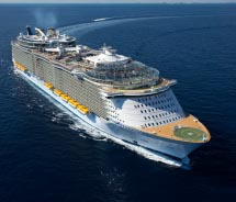 Royal Caribbean has plans for another Oasis-class ship. // © 2012 Royal Caribbean International