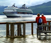 The Celebrity Century in Alaska // © 2013 Peter Knego