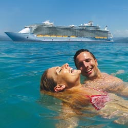 Couples without children generally take longer cruises. // © 2013 Royal Caribbean International