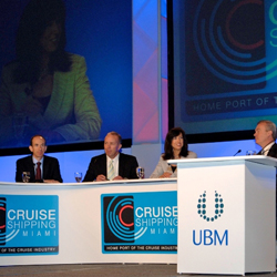 The State of the Industry Panel at Cruise Shipping Miami had a global focus. // © 2013 Cruise Shipping Miami