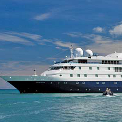Orion joins the Lindblad fleet. // © 2013 Lindblad Expeditions